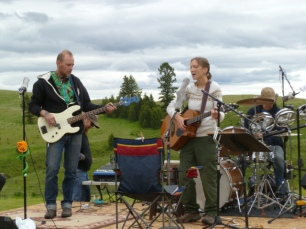 Skyfest in Molson with Quill Hyde and Tim Alley (2011)