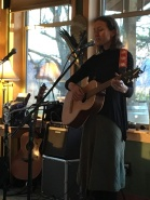 Esther Bricques winery performance near Oroville, WA (2016, photo by Marie Woodrow)