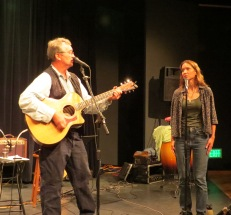 Ken Bevis CD Release at the Merc Playhouse in Twisp (2016, photo by Lee Johnson)